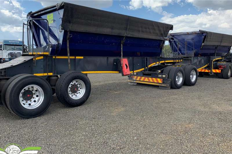 Trailord Trailers 2015 Trailord 25m3 Side Tipper 2015