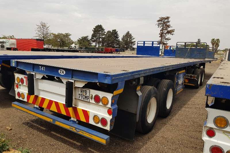 Trailord Trailers Flat deck Flatdeck Superlink, Pockets, Container 2005