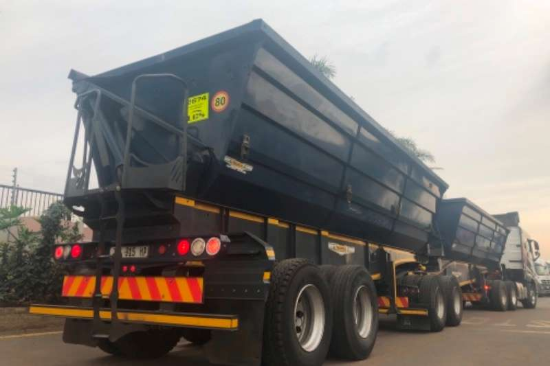 Trailord Side tipper 45 Cube Trailers