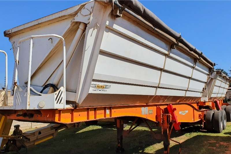 Trailord Trailers Side tipper d axle (45 cube) 2017