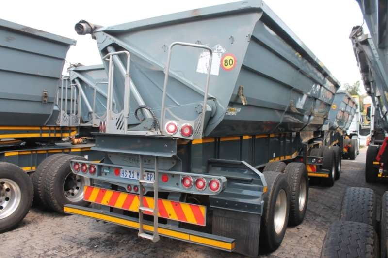 Trailord Trailers Side Tipper Link Front & Rear 2018