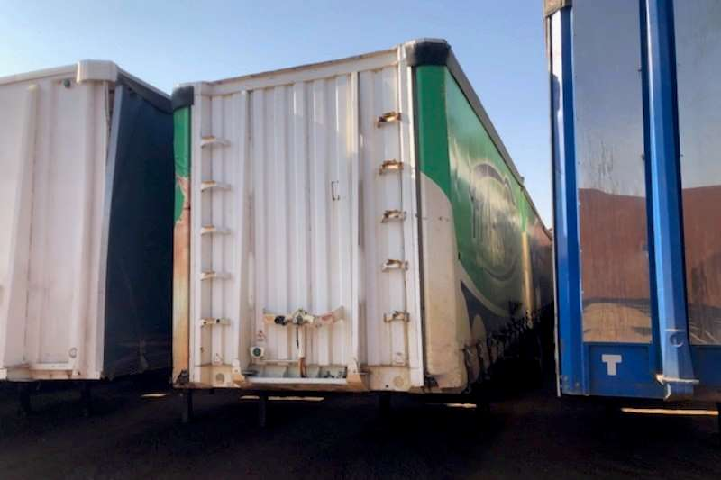 Trailord Trailers Tautliner Superlink Tautliner Trailer low roof 2007