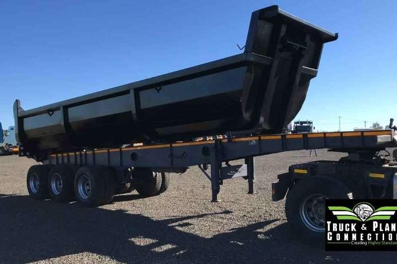 Transpec Trailers Tipping bulk trailer 2011 Transpec 25m3 Sloper 2011