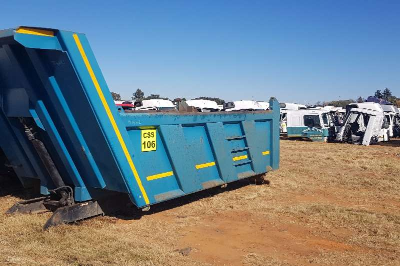 Truck accessories Meiller 10cube Tipper Bin
