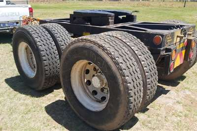 Doule Axle Dolly Truck