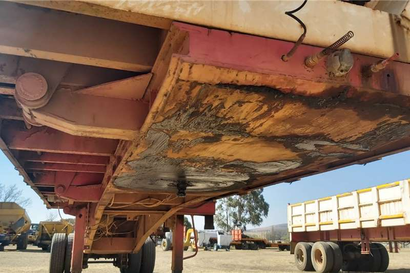Front Link Side Tipper Trailer Truck