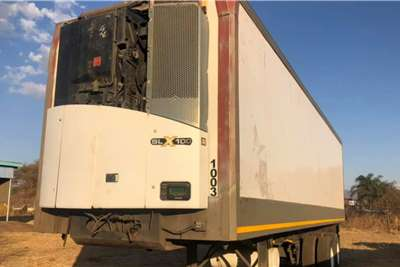 Icecold Bodies Double Axle Refrigerator Trailer 10 Truck