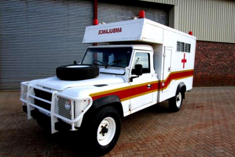 Truck Land Rover Ambulance 1989