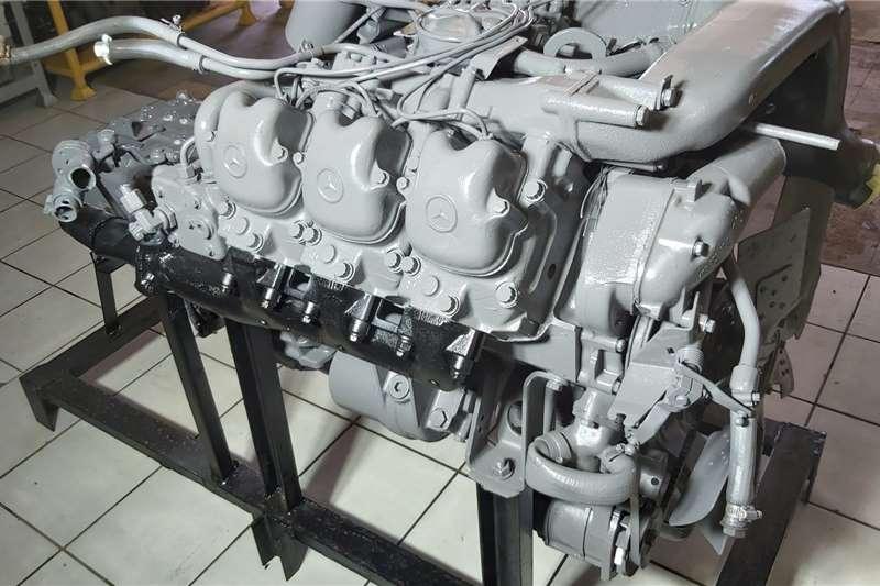 Truck OM 401 Mercedes V6 Engine