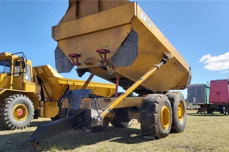 Truck Rock Dumper Tipper Trailer