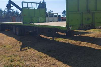 CTS 6x12m Flatdeck Superlink Trailer Truck spares and parts