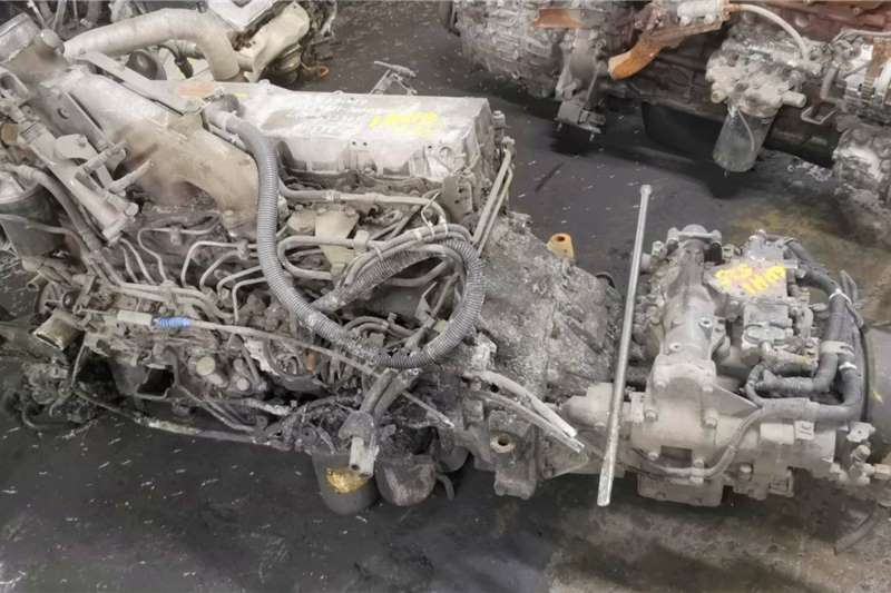 Engines ISUZU 6HH1 COMPLETE ENGINE AND GEARBOX Truck spares and parts