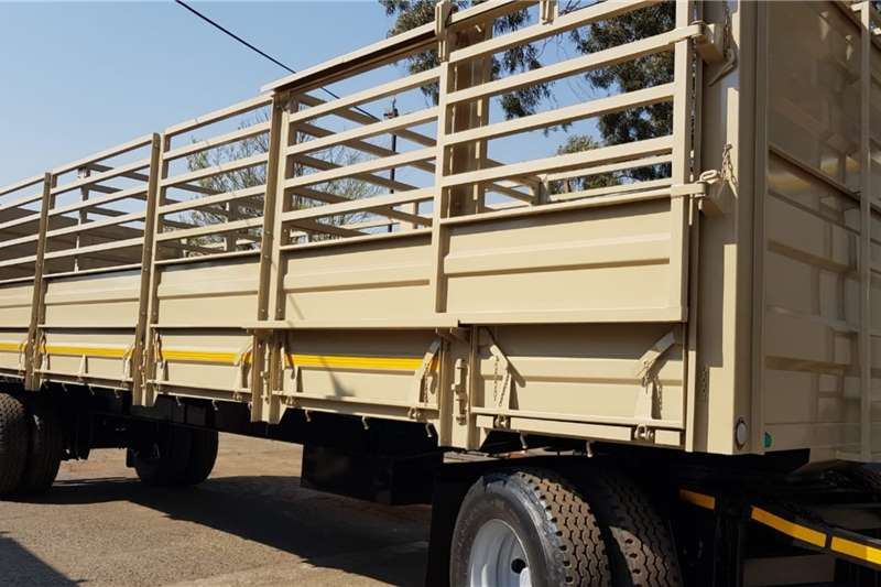 UBT Trailers Cattle body 9m Drawbar Cattle Trailer 2019