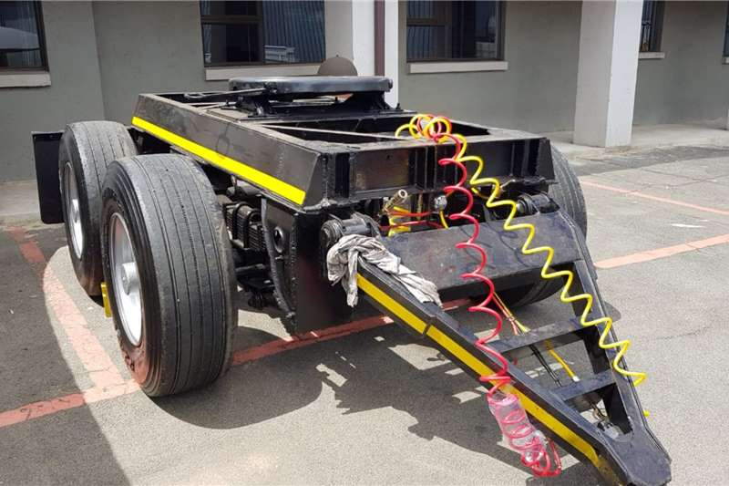 UBT Double axle UBT Double Axle Dolly Trailers