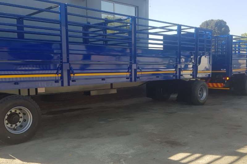 UBT Trailers Drawbar 10m Drawbar cattle Trailer 2019