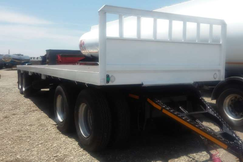 UBT Trailers Drawbar 4 Axle Drawbar Trailer - Flatdeck 2019