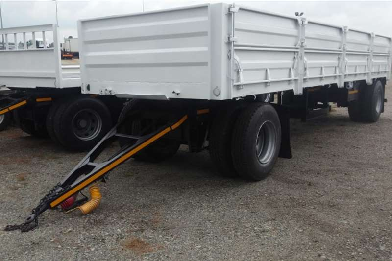 UBT Drawbar UBT 2 Axle Drawbar Trailer with Dropsides Trailers