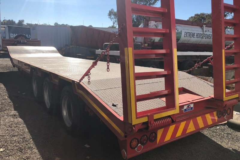 UBT Trailers Lowbed PLUS WINCH BRAND NEW 2019
