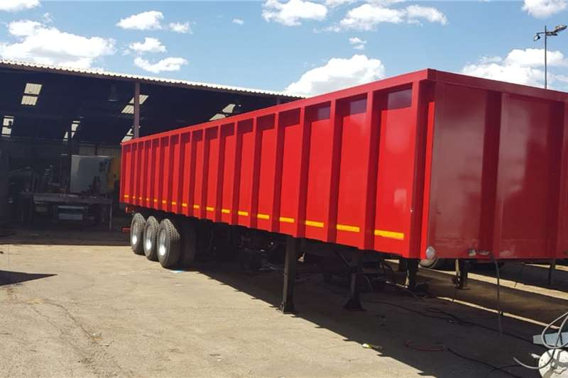 UBT Trailers Refurbished Scrap Bin Trailer 2019