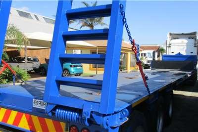 UBT Tri Axle Step Deck Trailers