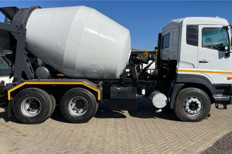 UD Quester CWE 330 6X4 fitted with TFM 6 Cubic Meter Concrete mixer trucks