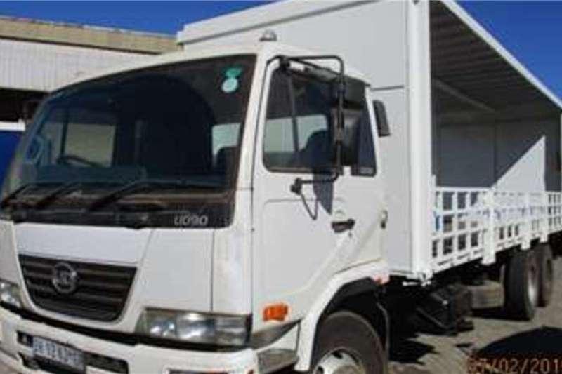 UD Curtain side trucks NISSAN UD90 CURTAIN SIDES 2011