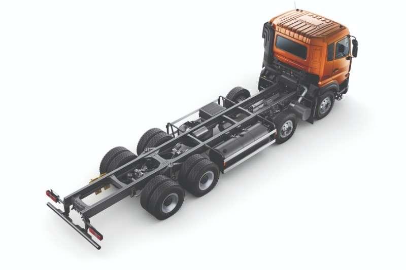 UD Flatbed trucks New UD Quester 8x4 Flatdeck 2020