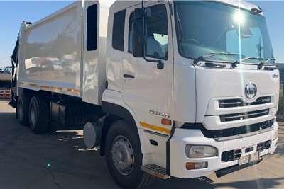 UD Quon GW 26 370 F/C TFM HC250 Compactor Garbage trucks