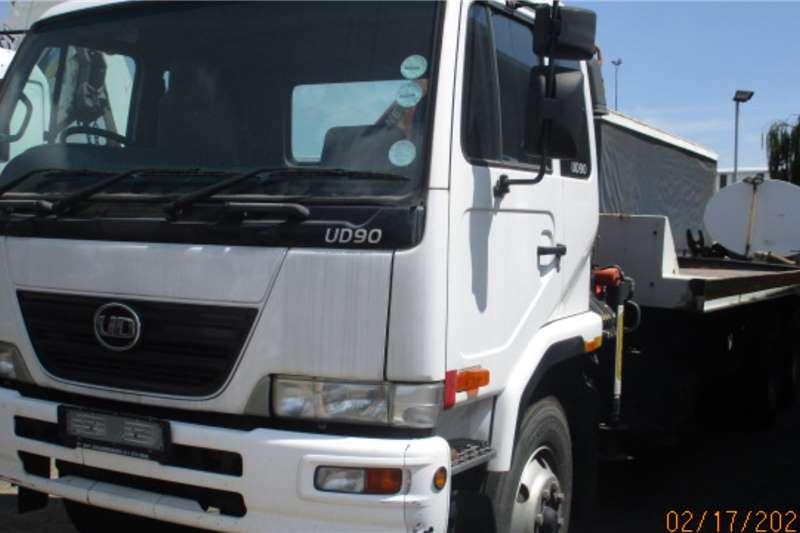UD Rollback trucks NISSAN UD90 ROLLBACK WITH PK 6500 CRANE 2012