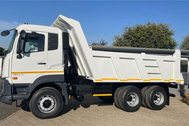 UD 370 Quester fitted with 10 Cubic Meter Tipper Body Tipper trucks