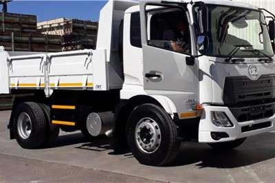 UD New UD Croner PKE250 AT with 6Cub Tipper Body Tipper trucks