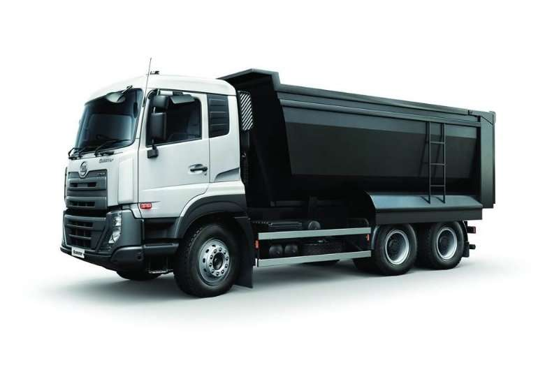 UD Tipper trucks UD QUESTER CWE370 2019