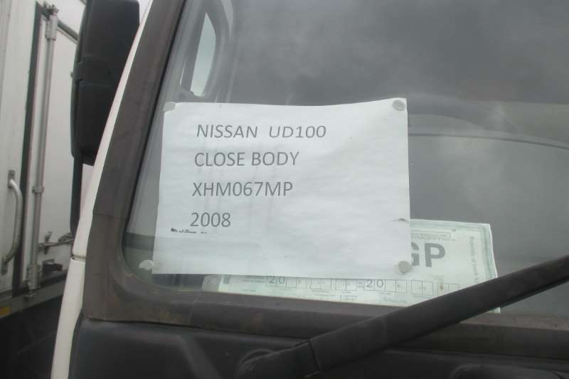 UD Truck Closed body NISSAN UD90 Closed Body 2008