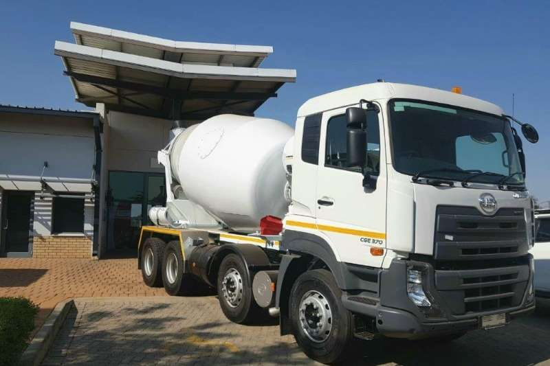 UD Truck Concrete mixer New UD Quester 8m3 Mixer AMT 2019