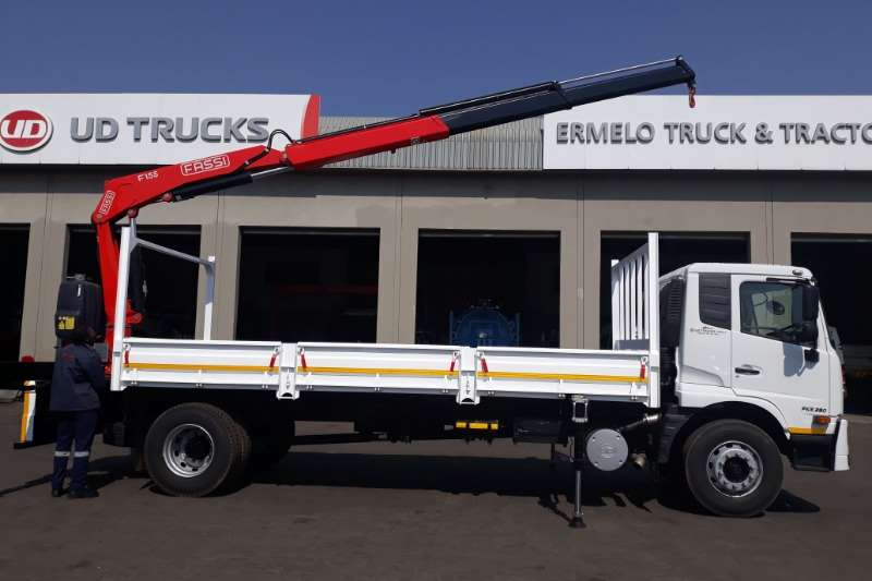 UD Truck Crane truck New Ud Croner Dropside with Crane 2019