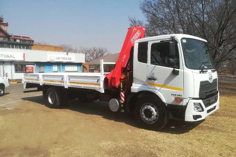 UD Truck Crane truck UD CRONER PKE 250 AMT 2019
