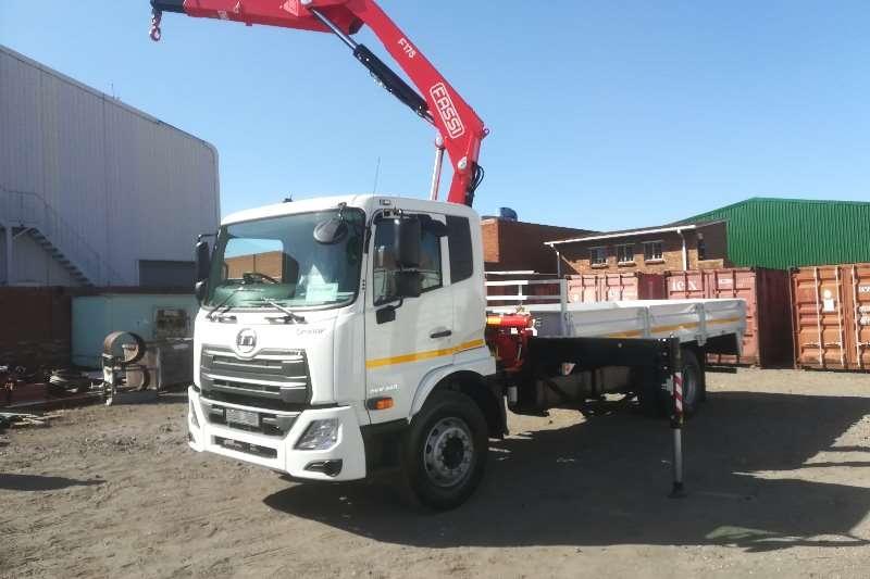 UD Truck Crane truck UD CRONER PKE250 AMT 2019