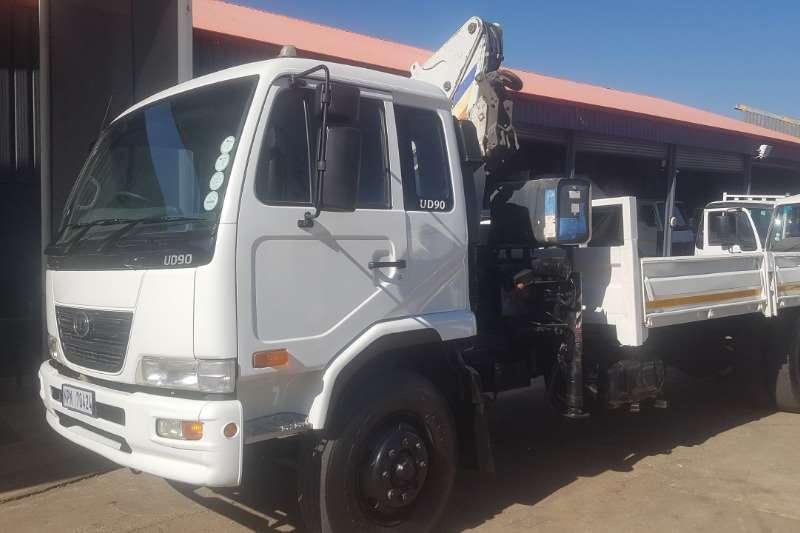 UD Truck Crane truck UD90 2007
