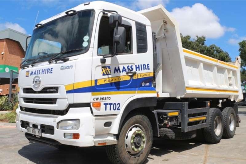 UD Truck CW26 370 6x4 10m3 Tipper 2015