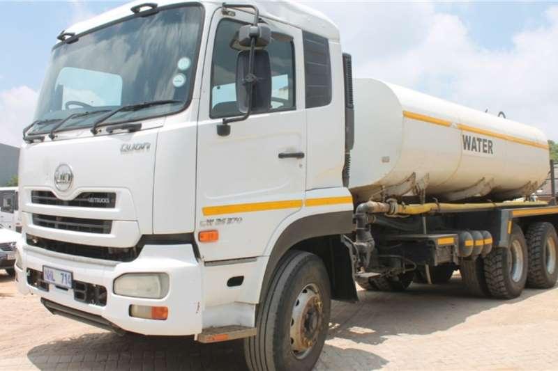 UD Truck CW26 370 6x4 12000L Drinking Water Tanker 2014