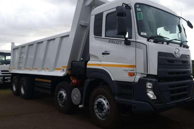 UD Truck Tipper CGE440 8x4 2019