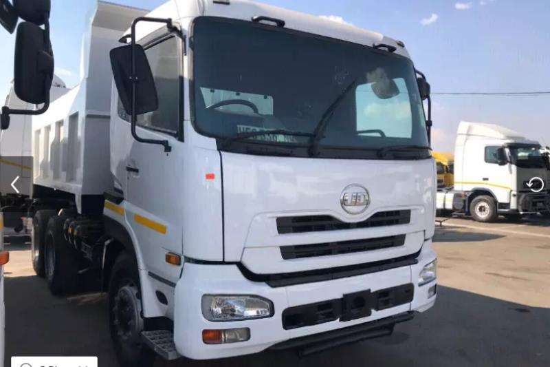 UD Truck-Tractor Double axle 2010 NISSAN UD 46010 CUBE Tipper 2010