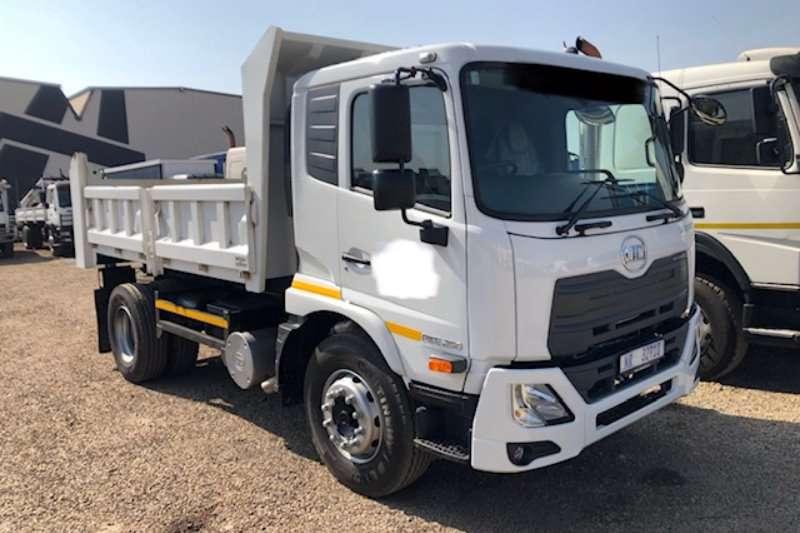 UD Truck-Tractor Single axle Croner PKE 250 6m³ tipper truck 2019