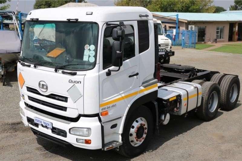 UD Truck tractors Double axle GW 26 450 2014