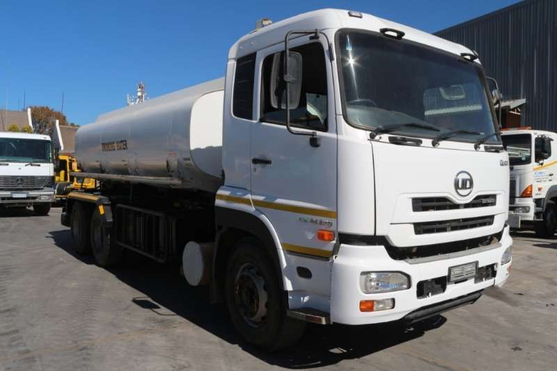 UD Truck Water tanker Quon CW26 370 12000L 2014