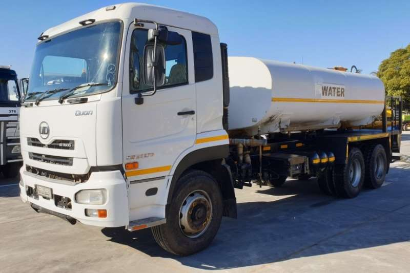 UD Truck Water tanker Quon Drinking Water Tanker 2014