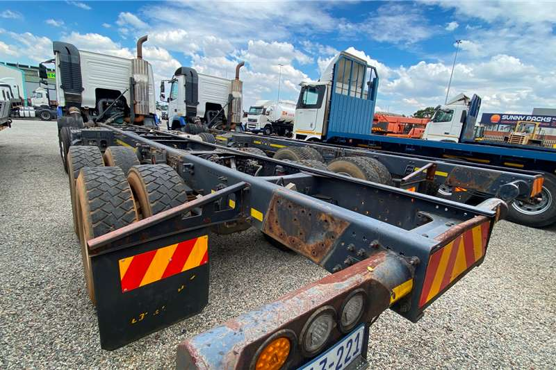 Volvo FMX 520 Chassis cab trucks