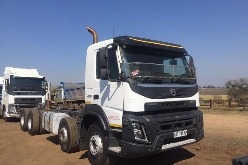 Volvo Truck Chassis cab VOLVO FMX 480 TWIN STEER RIGID 2016
