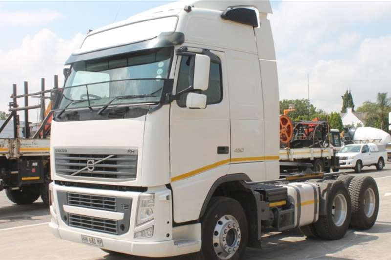Volvo Truck FH480 6x4 Horse 2014