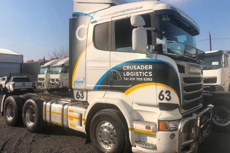 Volvo Truck-Tractor Double axle SCANIA R460 6X4 T/T 2016